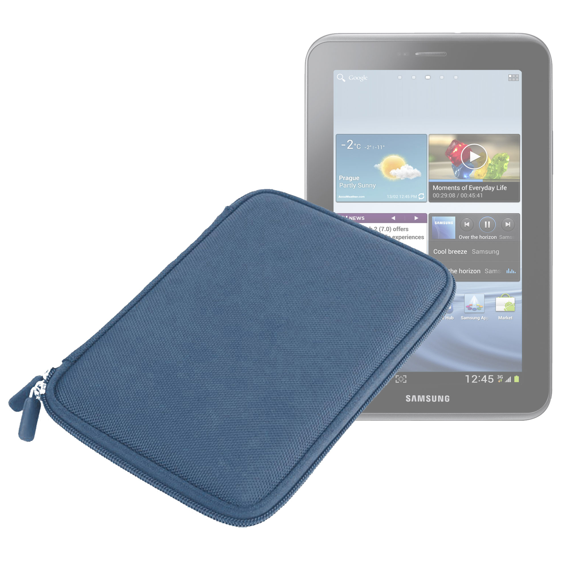 Housse tui pochette pour samsung galaxy tab 2 p3110 for Housse tablette samsung