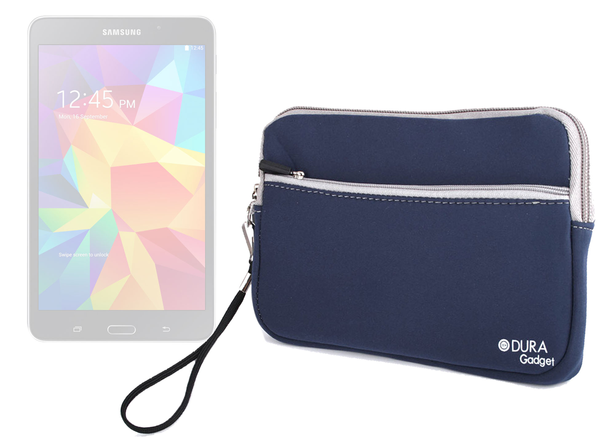 Housse tui en n opr ne bleu pour tablette samsung galaxy for Housse tablette samsung
