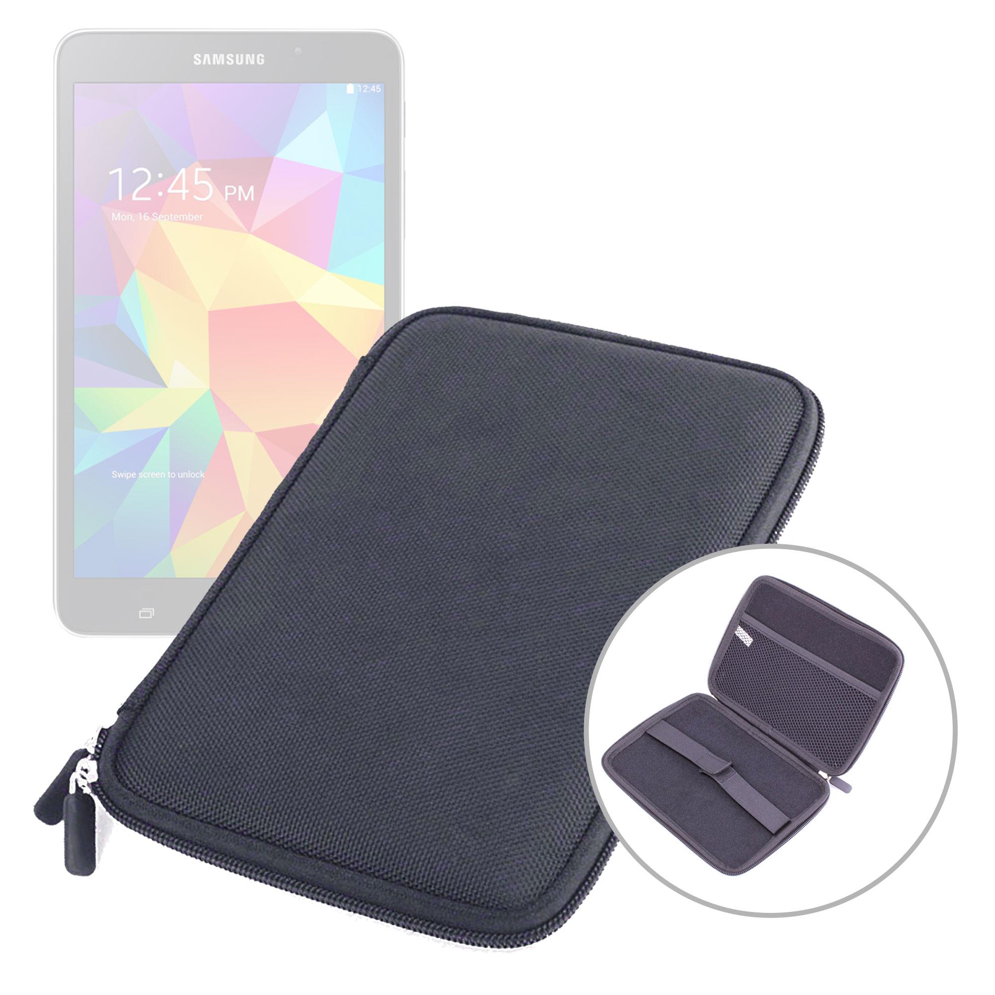etui housse rigide noir pour tablette samsung galaxy tab 4. Black Bedroom Furniture Sets. Home Design Ideas