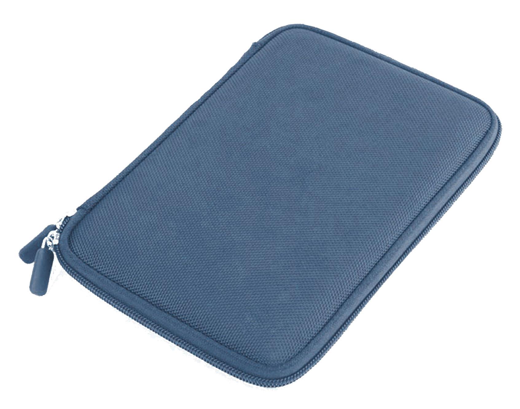 Housse tui bleu rigide compatible avec tablette mpman for Housse tablette 8 pouces