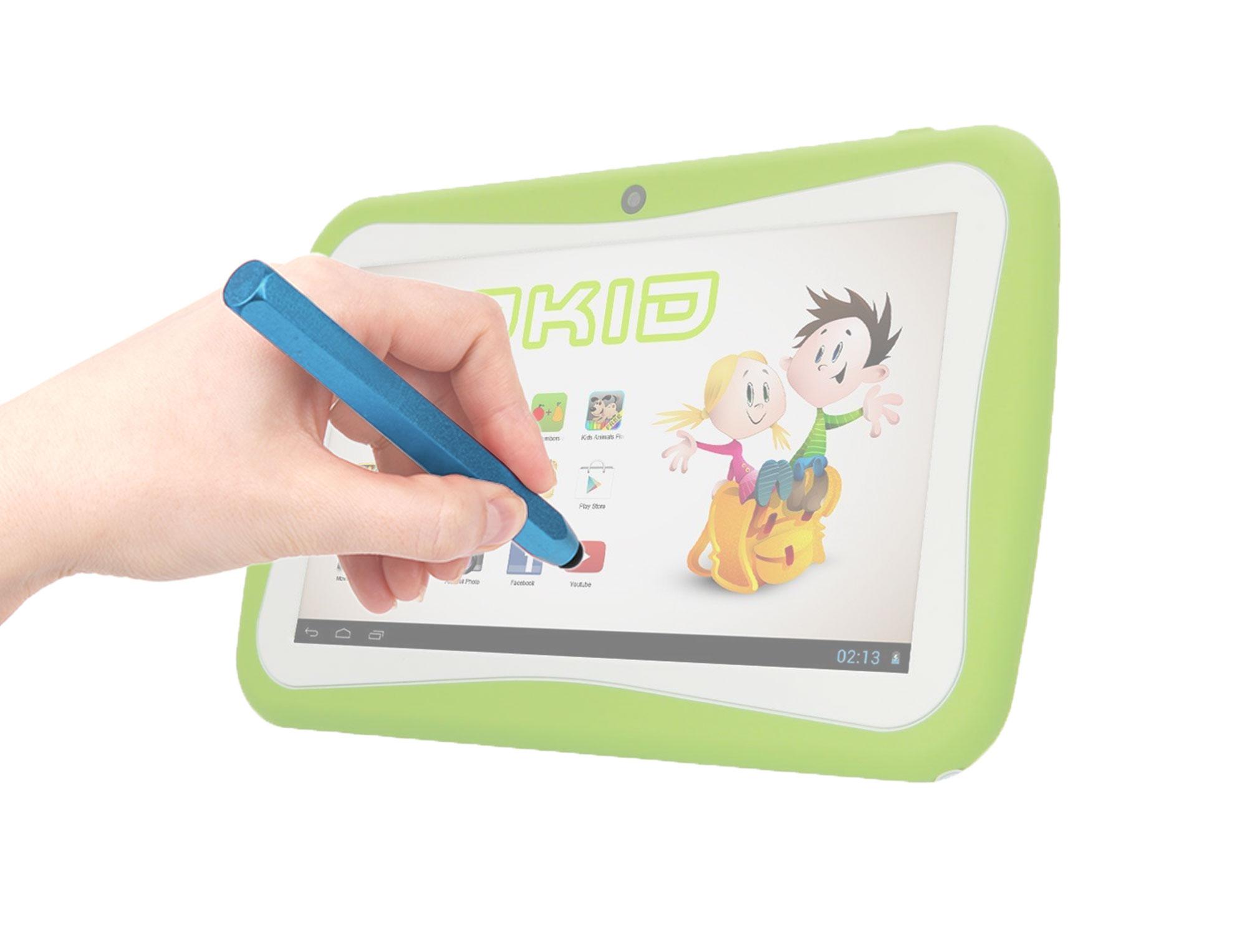 stylet bleu pour tablette tactile enfant yonis yokid ebay. Black Bedroom Furniture Sets. Home Design Ideas