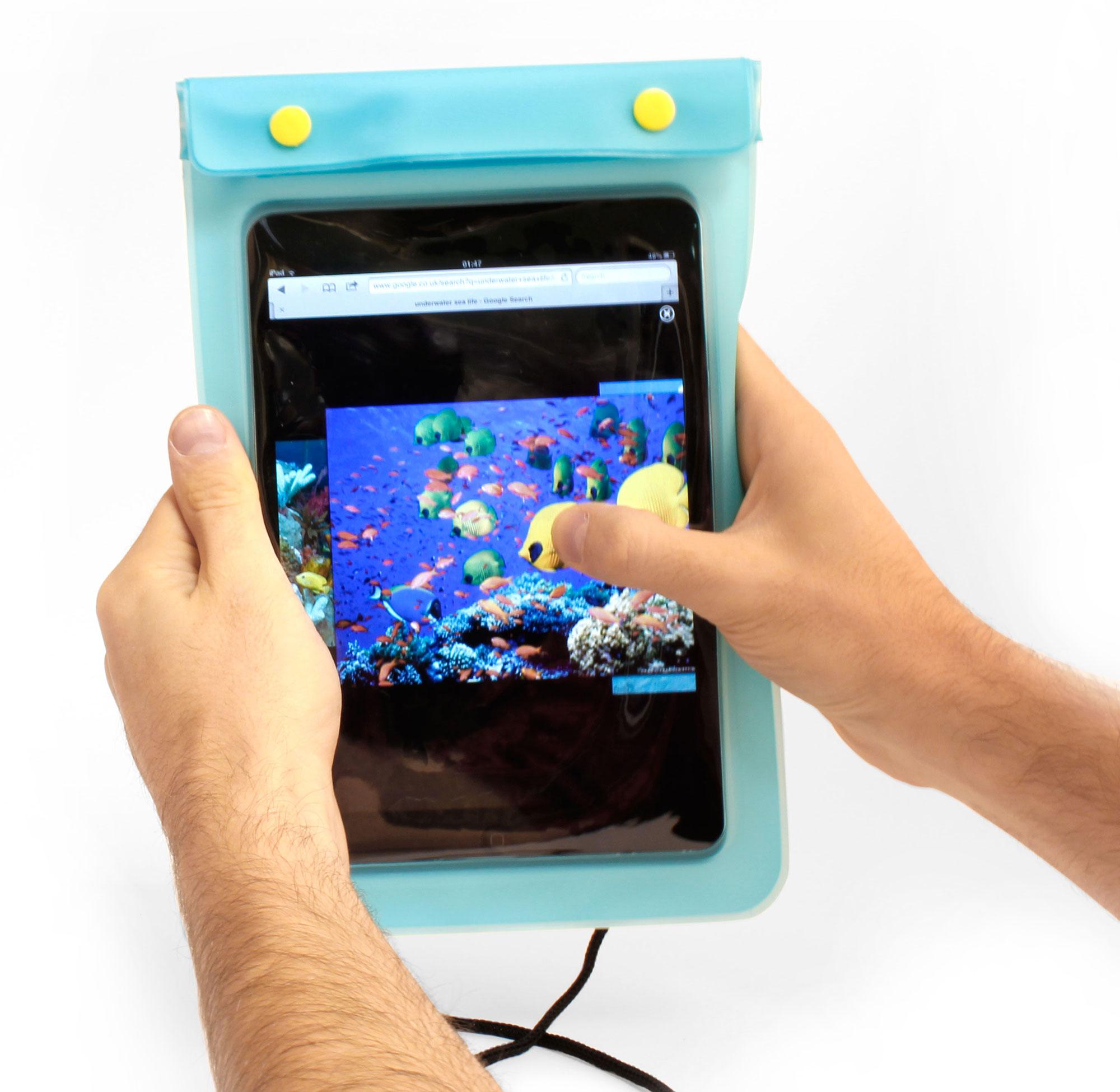etui housse tanche bandouli re pour tablette lazer eco 7 pouces auchan ebay. Black Bedroom Furniture Sets. Home Design Ideas