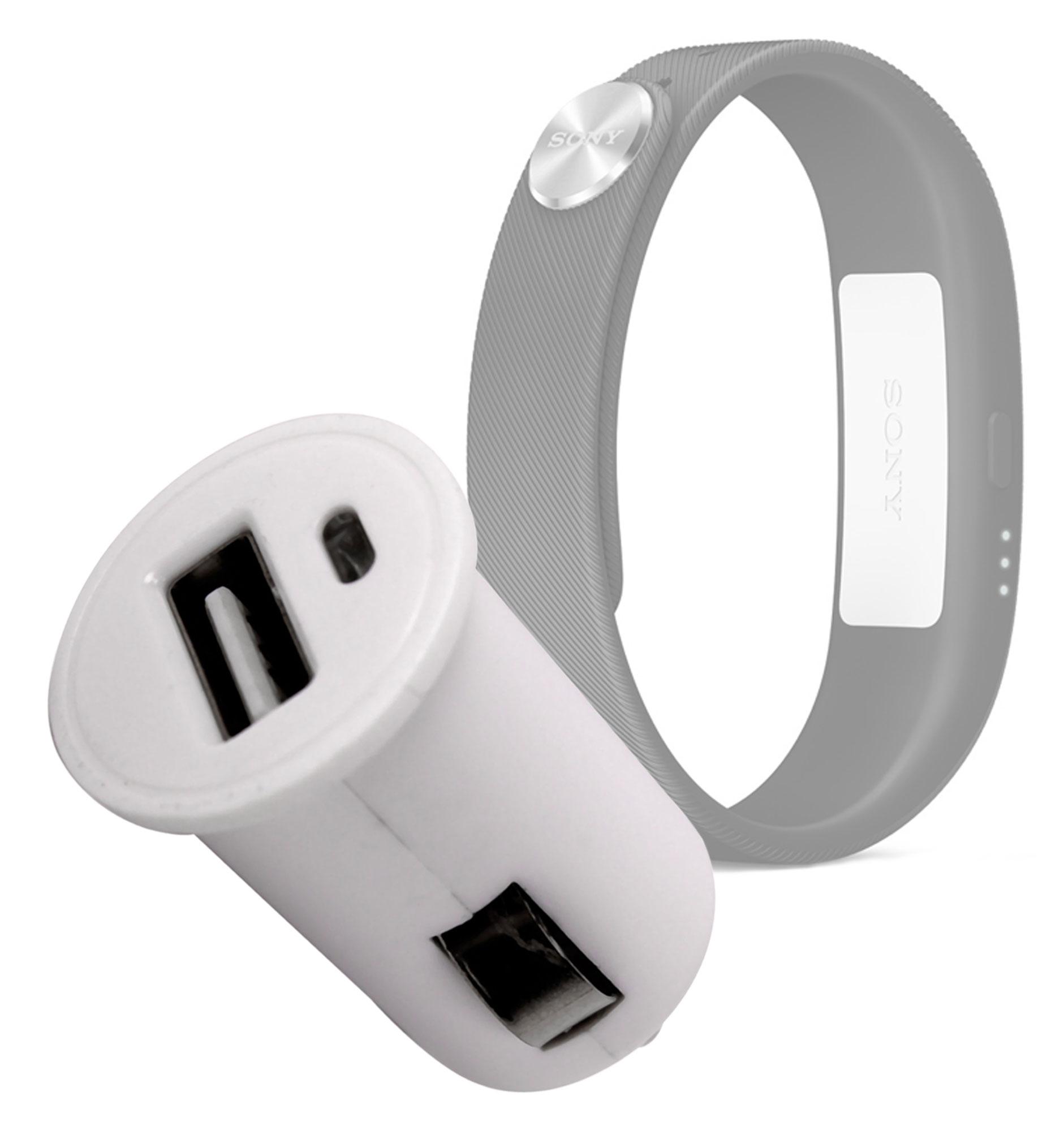 chargeur voiture 1 amp prise usb pour montre sony smartband swr10 smartwatch ebay. Black Bedroom Furniture Sets. Home Design Ideas