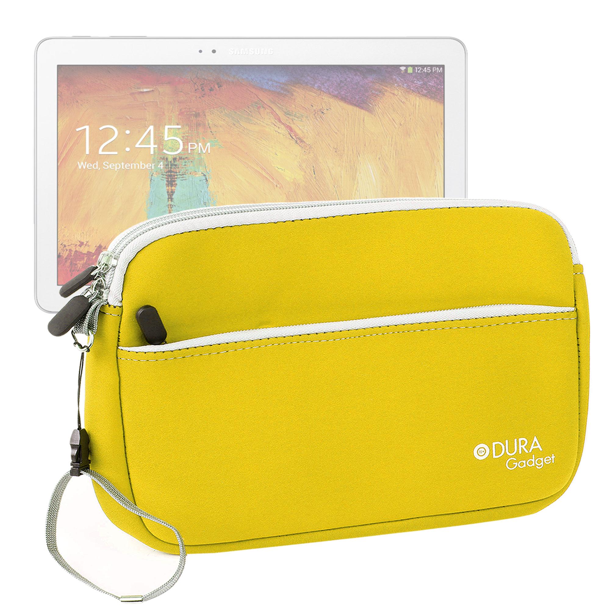 Housse tui jaune pour tablette samsung galaxy tab 4 10 1 - Pochette pour tablette samsung ...