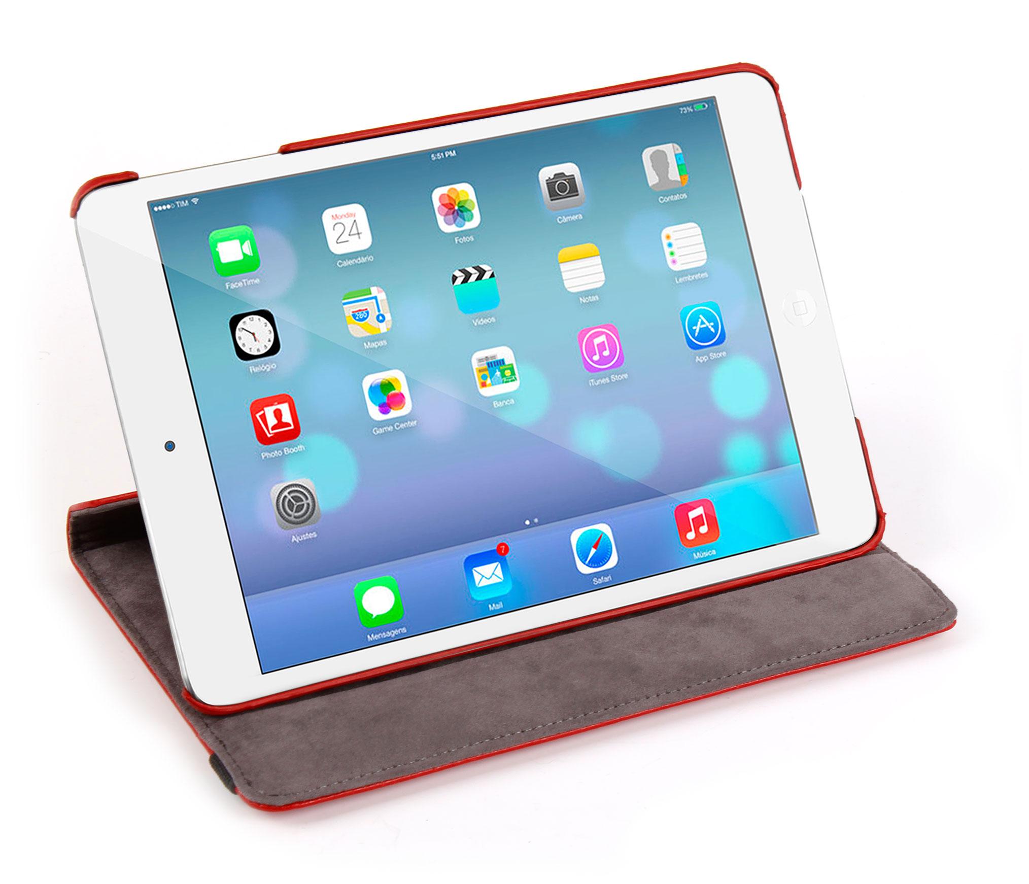 housse etui rouge pour apple ipad air tablette cran retina stylet 2 en 1 noir ebay. Black Bedroom Furniture Sets. Home Design Ideas