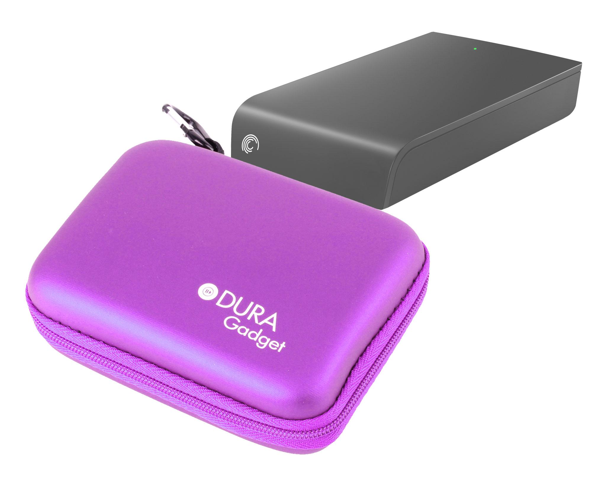 housse tui violet pour disque dur externe seagate