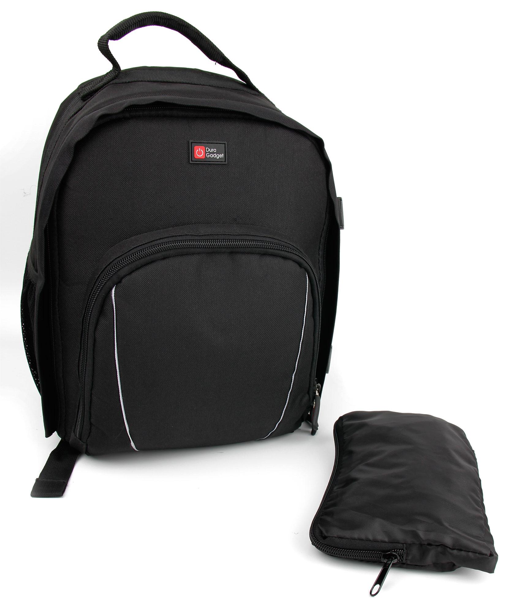 sac dos langer noir pour affaires de b b avec. Black Bedroom Furniture Sets. Home Design Ideas