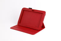 View Item Red Leather 360� Case w/ Flip Stand & S-Pen Holder Fits Samsung Galaxy Note 10.1