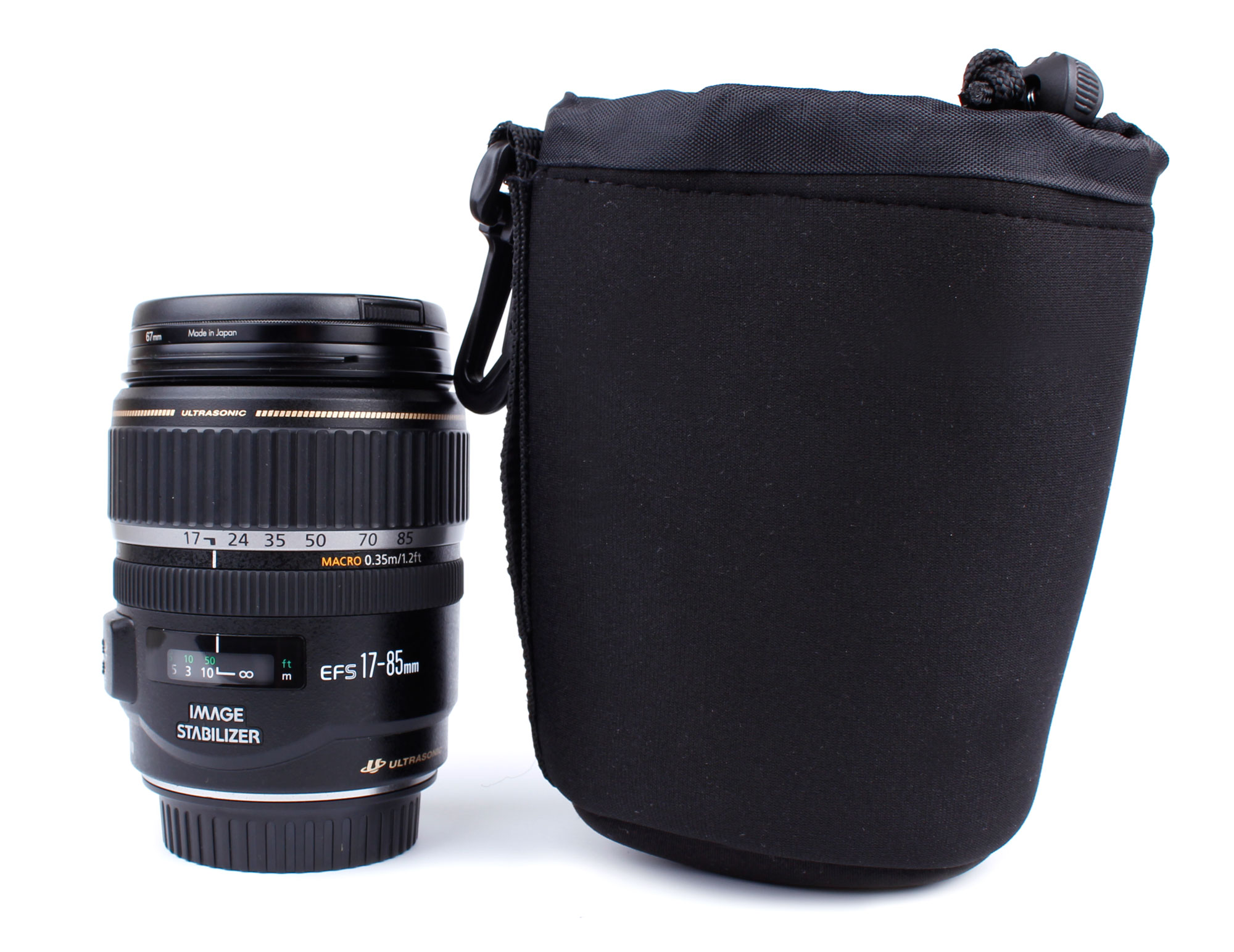 etui pour objectifs canon ef s 55 250 mm f 4 5 6 is ii et 24 105mm f 4l is usm ebay. Black Bedroom Furniture Sets. Home Design Ideas