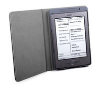 View Item Amazon Kindle 4 eReader Protective PU Leather Book Style Case w/ LED Light/Torch