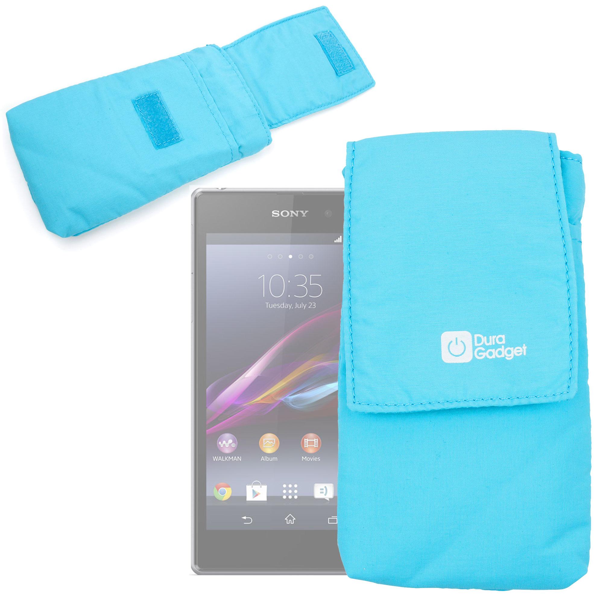 Pochette housse tui de protection bleu pour smartphones for Housse et pochette