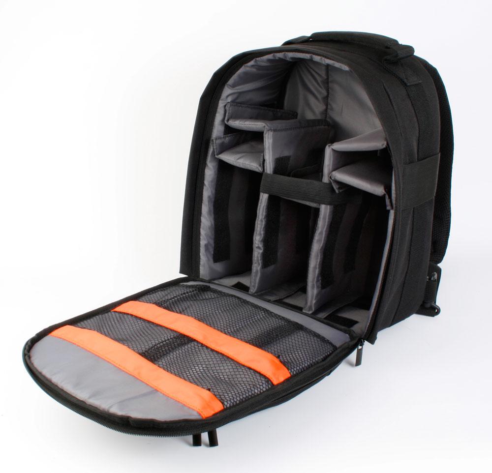 sac dos noir pour appareil photo canon eos 7d canon eos 600d canon eos 550d ebay. Black Bedroom Furniture Sets. Home Design Ideas