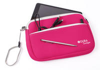 View Item Pink Case For New Apple iPad Mini Lightweight Neoprene w/ Twin Zip