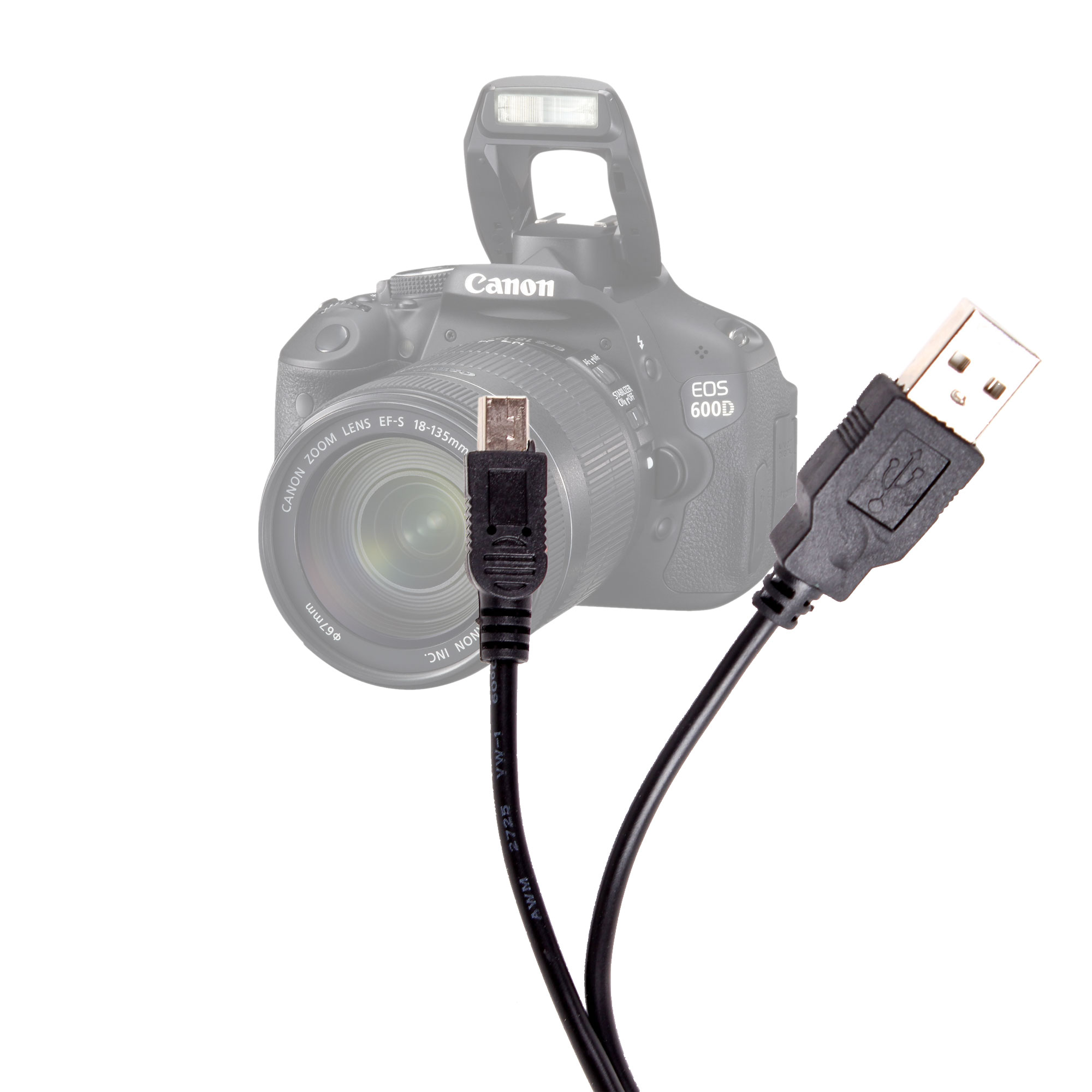 Camera Usb Cable : Slr camera usb cable lead wire for canon eos d