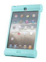 View Item Blue Rubber Shock Resistant Children's Case Custom Fits iPad 4 (Retina Display)