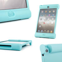 View Item Protective Apple iPad Mini Children's Cover With Easy Hold Rubber Grip In Blue