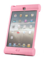 View Item Apple iPad 4 (Retina Display) Extra Tough Rubber Children's Grip Cover In Pink