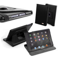 View Item Black Rotating Stand Case For Apple iPad Mini 7.9""