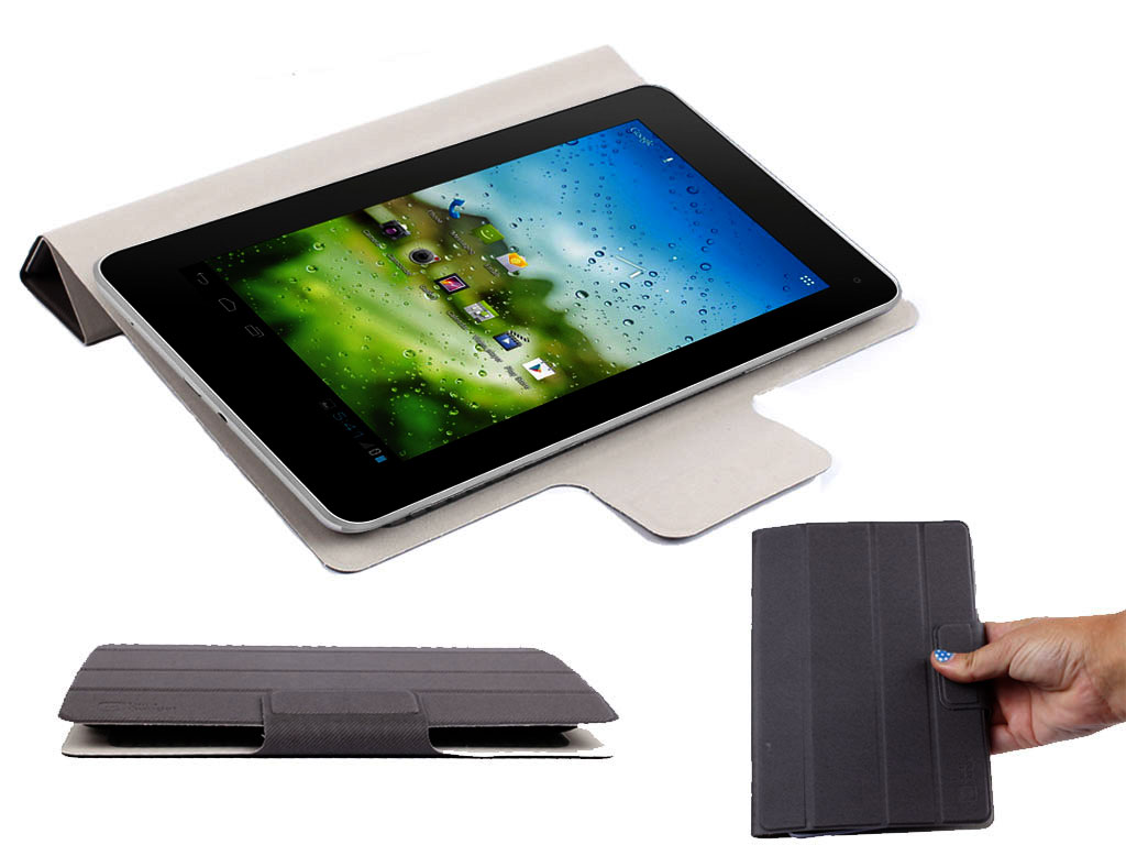 etui noir pour tablette cnm touchpad ii odys neo x 7 tablet pc 7 pouces ebay. Black Bedroom Furniture Sets. Home Design Ideas