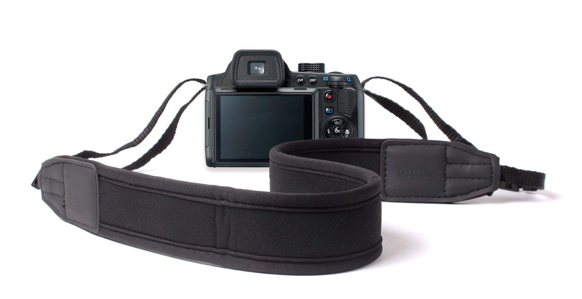 Strap For Pentax K-r, K-x, Q, X70, X90 SLR Camera With Padded Neck/Shoulder Grip Enlarged Preview