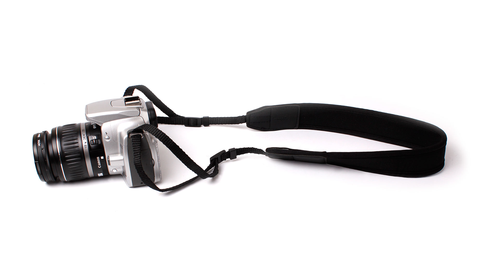 Extra Strong Neck Strap For Canon EOS 70D SLR Camera w/ Soft Comfortable Padding Enlarged Preview