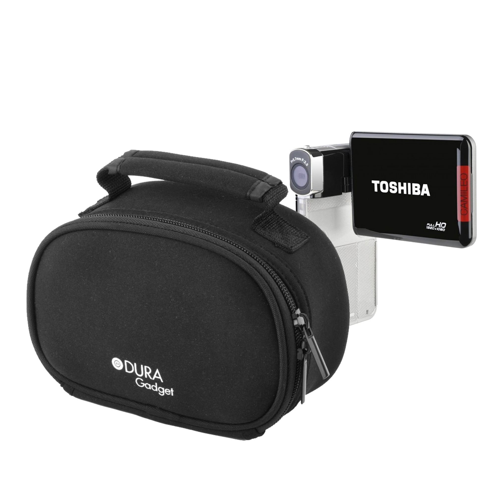 Etui housse pour cam scope toshiba camileo p100 cam ra for Housse camescope