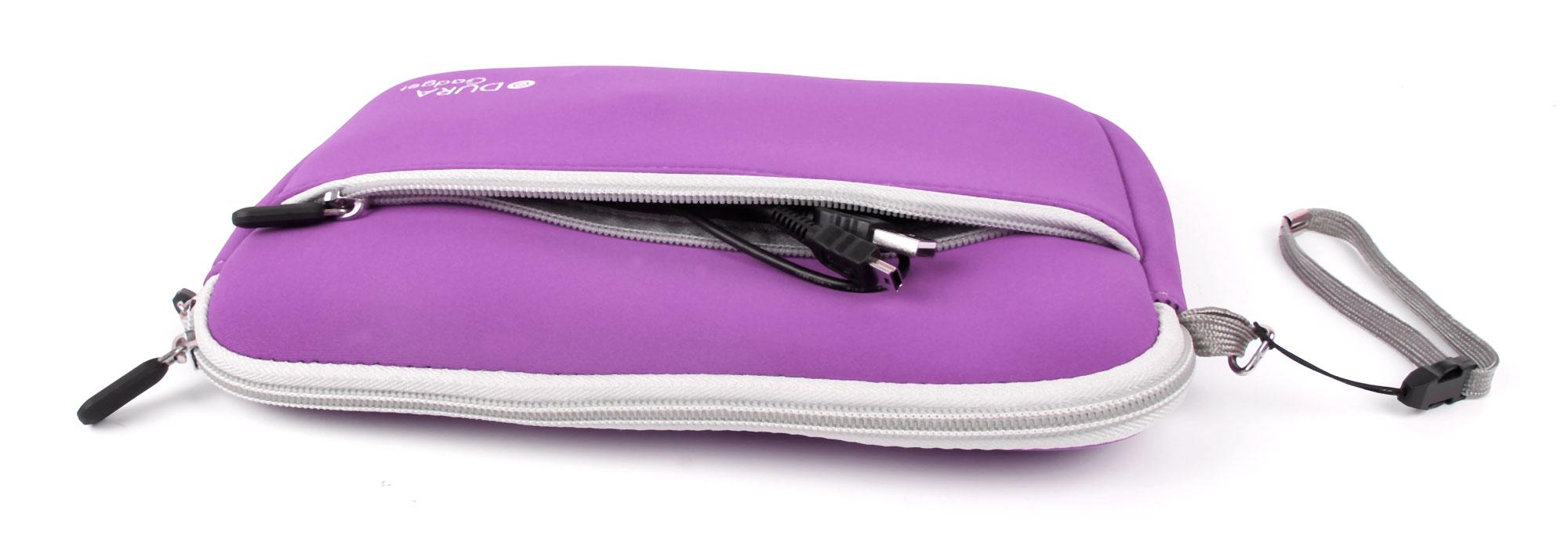 Purple Neoprene Carry Case For Leapfrog Leappad Ultra