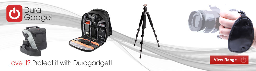 Fanastic range of Duragadget Camcorder, Digital and SLR cases and accessories