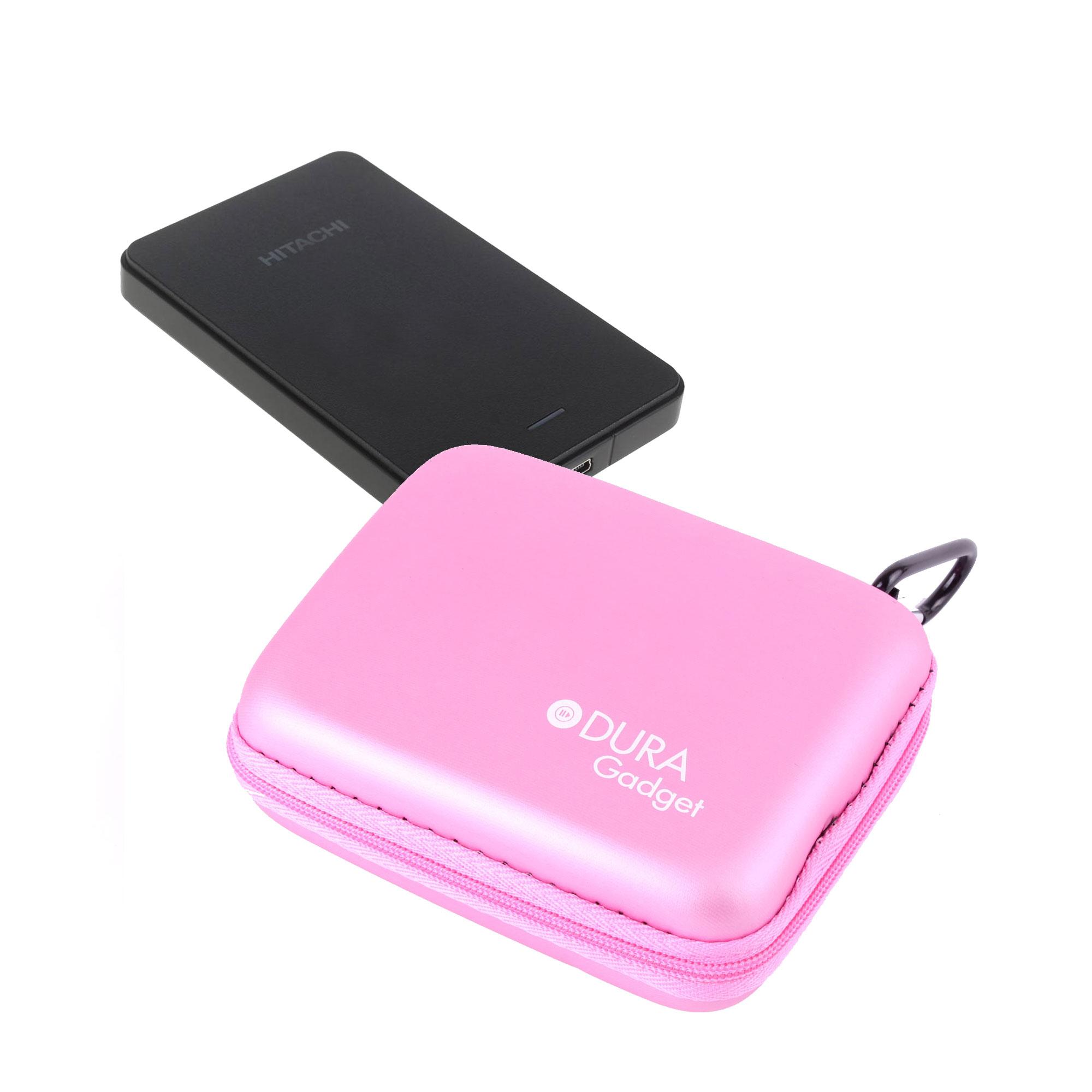 Housse coque tui rose pour disque dur externe hitachi for Housse pour disque dur externe
