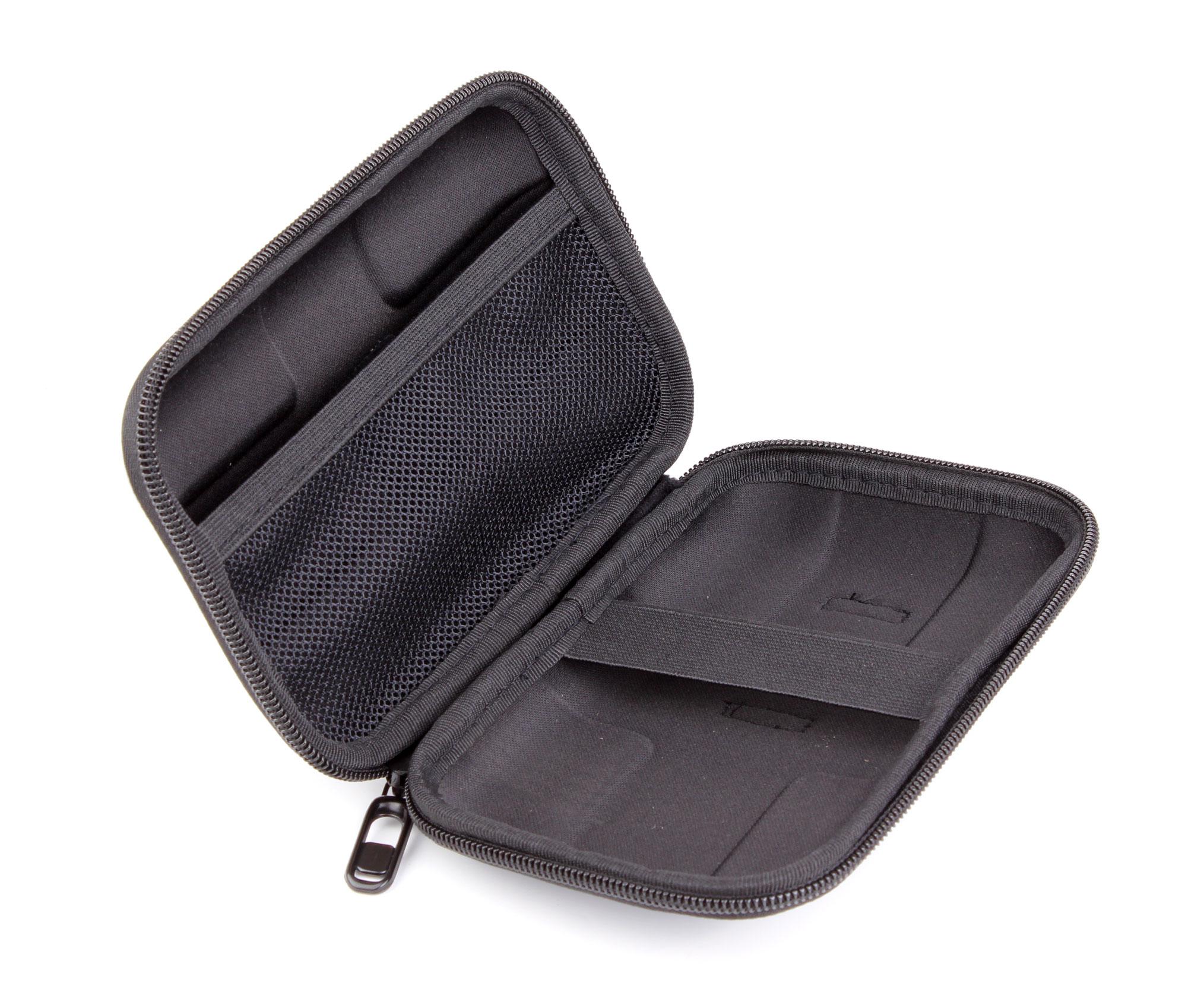 Housse tui noir de protection pour disque dur externe for Housse pour disque dur externe