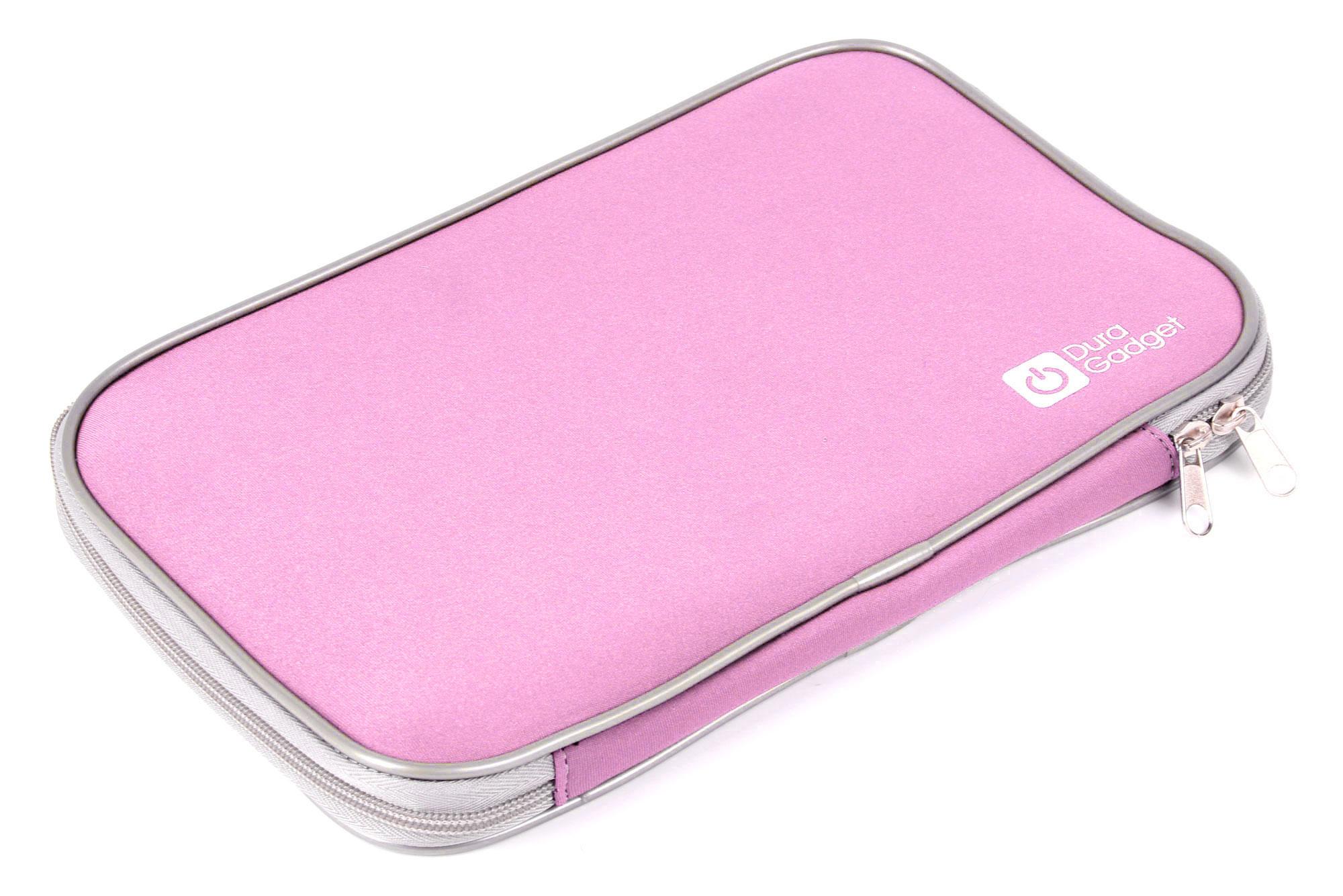 Stylish pink neoprene laptop case pocket for packard bell for Housse ordinateur portable originale