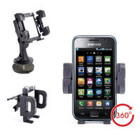 View Item Ajustable Phone Holder/Mount For Samsung Galaxy SIII, SII, Nexus &amp; Note Phones