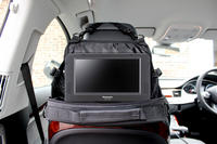 View Item Portable DVD Player Bag/Case/Holder w/ Car Headrest Mount For Panasonic DVD-LS50