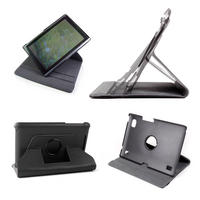 View Item Black 360 Degree Rotating Stand Case/Cover For Acer Iconia Tab A500 Tablet PC