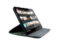 View Item Black 360 Degree Rotating Stand Case For Motorola XOOM Tablet PC
