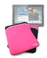 View Item Tablet Cover For Samsung Galaxy Note 10.1 Tablet Pink/Black Reversible Design