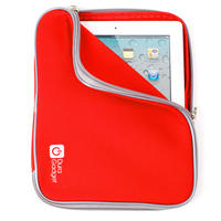View Item New Red Neoprene Sleeve Case Cover Fits Latest 3rd Generation Apple iPad 3, 2