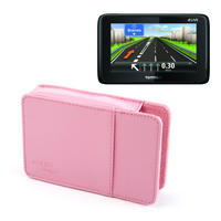 View Item Pink Case For TomTom LIVE 1000, Via LIVE 125, 120, XL LIVE IQ Routes & Start 20