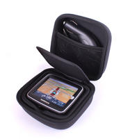 View Item Solid & Durable EVA Material Black Zip Carrier For TomTom Start With Belt Loop