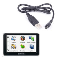 View Item Sat Nav USB Data Sync &amp; Transfer Cable For Garmin Nuvi 2320, 2390 And 2350