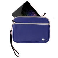 View Item Blue Water Resistant Carry Case / Bag Fits New Google Nexus 7 Android Tablet PC