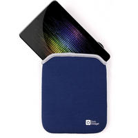 View Item Blue &amp; Black Water Resistant Carry Case Fits New Google Nexus 7 Android Tablet