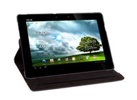 View Item Black PU Leather 360� Rotating Case w/ Stand Fits Asus Eee Pad Transformer Prime