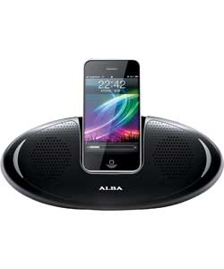 ALBA MINI IPHONE IPOD SPEAKER DOCK- RRP £29.99