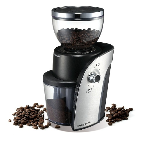 MORPHY RICHARDS 47910 ARC COFFEE BEAN GRINDER 250G 12 CUP