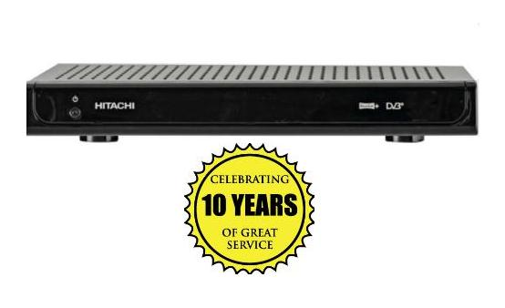 HITACHI HDR325 320GB FREEVIEW+ DIGITAL TV RECORDER