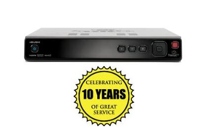 BUSH FREESAT HD 250GB DIGITAL SET TOP BOX & TV RECORDER