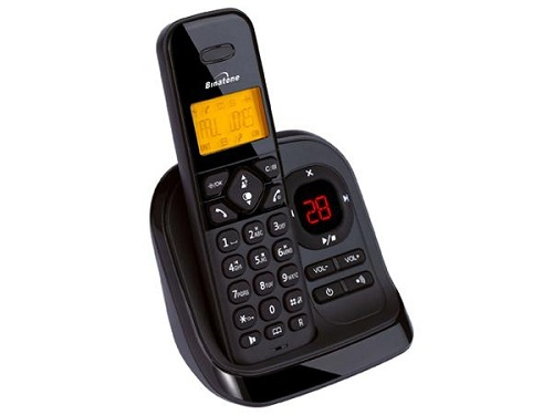 BINATONE SYMPHONY 3325 DIGITAL CORDLESS PHONE ANSWER MACHINE