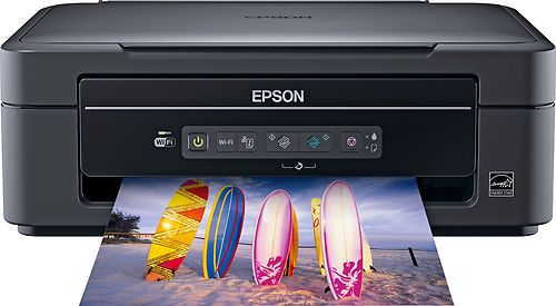 epson expression home xp 205 wireless wi fi all in one printer scanner copier ebay. Black Bedroom Furniture Sets. Home Design Ideas
