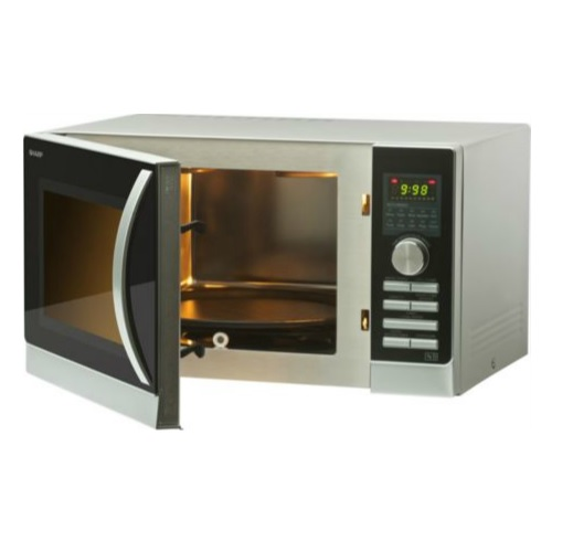 sharp r842slm 25 litre 900w microwave combination oven. Black Bedroom Furniture Sets. Home Design Ideas